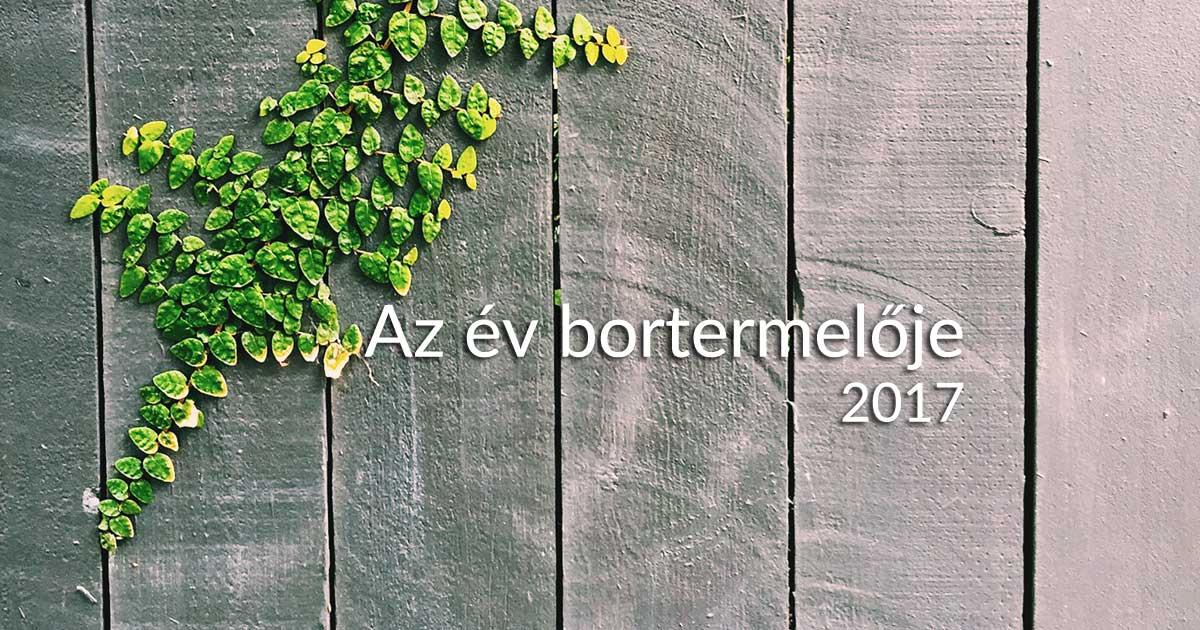 az év bortermelője